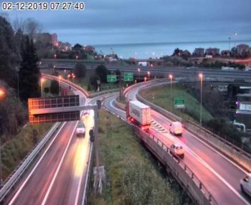 Riaperta questa mattina l'autostrada A6 Torino-Savona