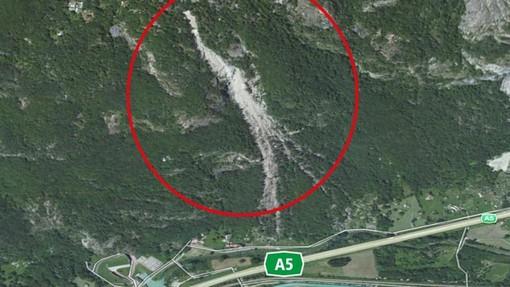 Frana di Quincinetto, nuovo allarme: chiusa l'autostrada A5