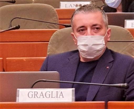 Nove mesi dopo il grave malore, Franco Graglia torna a sedersi ai banchi del Consiglio regionale del Piemonte