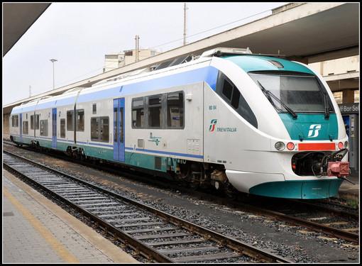 Treni regionali, in Piemonte dal 3 giugno servizio oltre il 70%