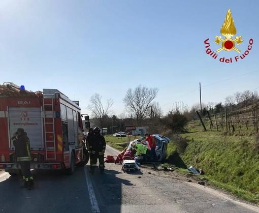 incidente sull'Asti-Chivasso