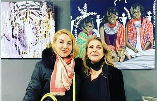 Montecarlo, Fabiana Macaluso espone all'ART3F