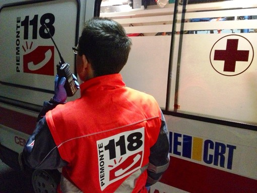 Ambulanza del 118 - immagine d'archivio