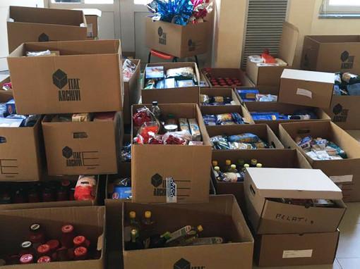 Distribuzione pacchi alimentari, a Volpiano assistite quasi 800 persone