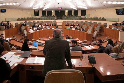 Consiglio regionale, primi voti sull'omnibus