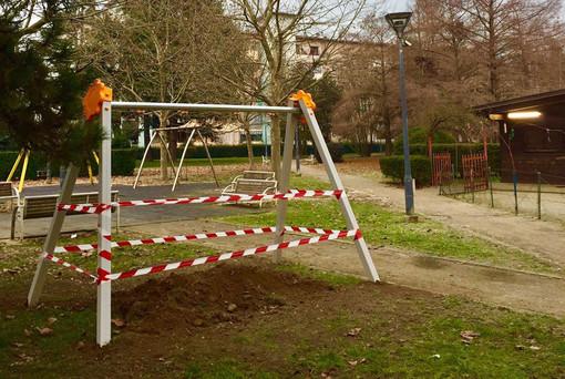 Giochi accessibili a tutti nei parchi  e nelle aree verdi della città