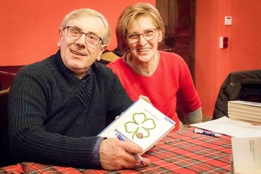 Gianluca Bocca con sua moglie Laura