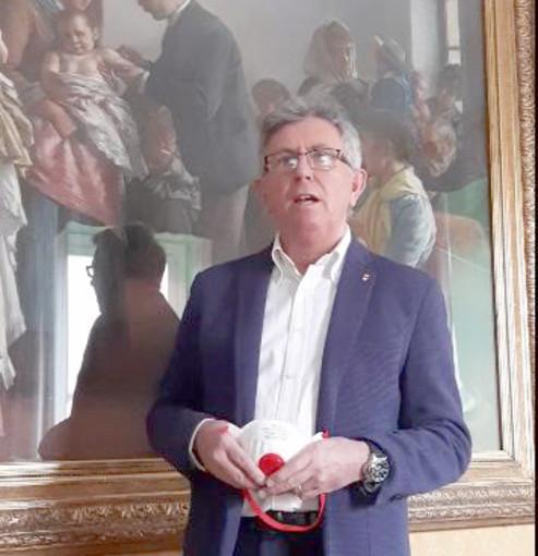 Il sindaco Claudio Castello
