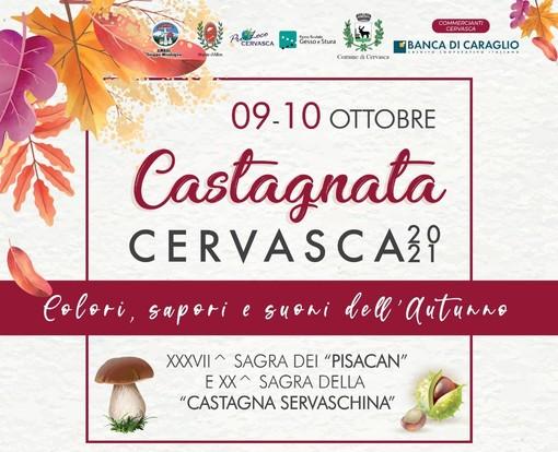 A Cervasca si festeggiano i colori, sapori e suoni dell'autunno!