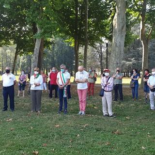 L'Amministrazione comunale e l'Anpi ricordano i Martiri della Libertà fucilati al parco Mauriziano