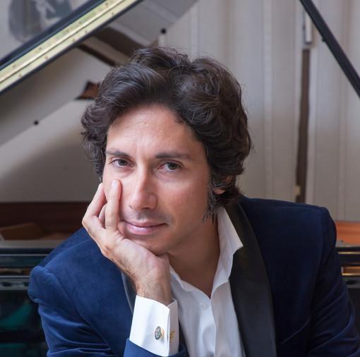 Il musicista Emanuele Sartoris