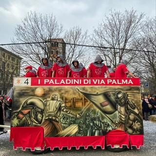 Storico Carnevale di Ivrea, Fabio Roveyaz vince il premio Artisti Carri da Getto