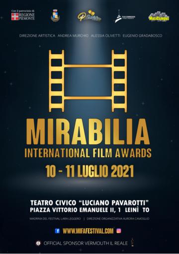 Nel prossimo weekend si chiuderà a Leinì il Mirabilia International Film Awards