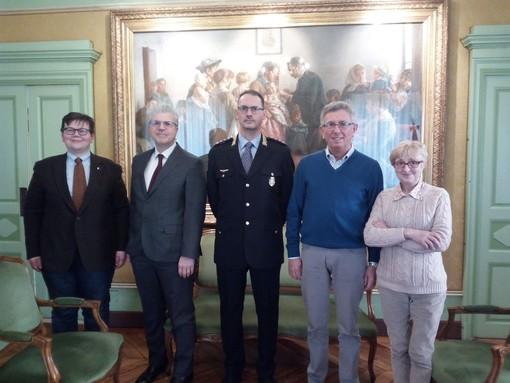 Marco Delpero è il nuovo comandante di Polizia Municipale di Chivasso
