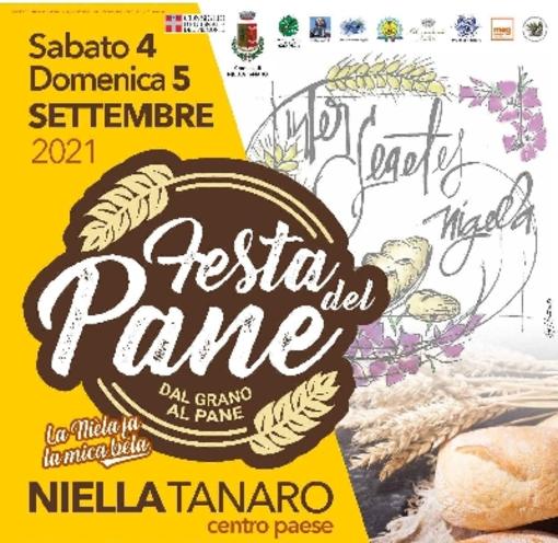 A Niella Tanaro il 4 e 5 settembre al via la 1ª edizione della 'Festa del Pane'