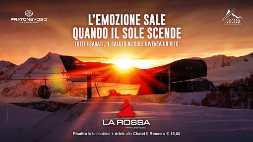 Prato Nevoso scommette sui suoi tramonti. Da sabato 8 febbraio arriva il saluto al sole