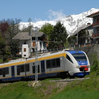 Treno Gtt della linea canavesana