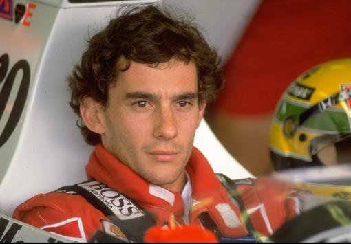 Il campione Ayrton Senna