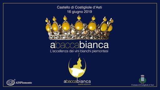 """La quarta edizione di """"ABaccaBianca"""" porterà i grandi bianchi piemontesi al castello di Costigliole"""