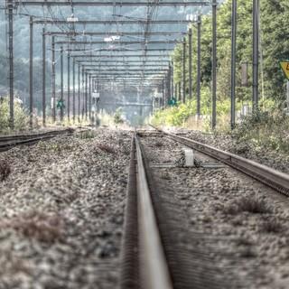 binari del treno