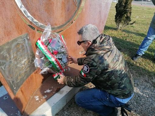 CasaPound ricorda le vittime delle Foibe nella provincia di Torino