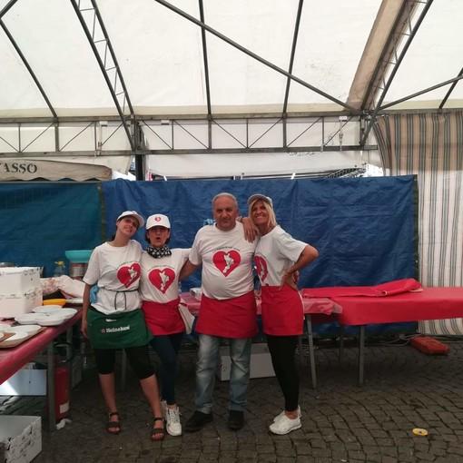 Torino Micalizzi con alcuni volontari