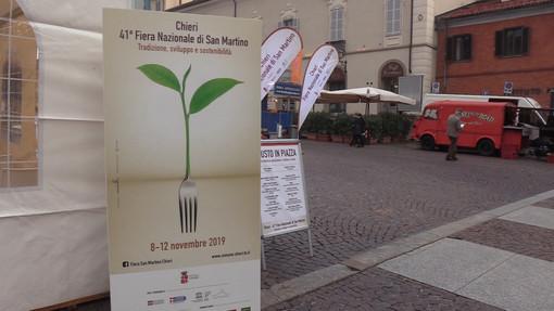 Al via la quarantunesima Fiera di San Martino a Chieri, tra Maestri del Gusto e sostenibilità [VIDEO]