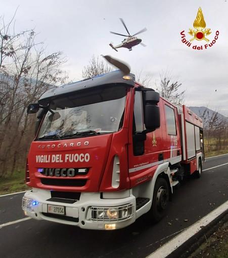 camion dei pompieri - foto di repertorio