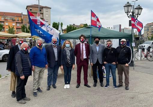 Lega, raccolta firme per il Made in Italy e campagna di tesseramento in piazza d'Armi