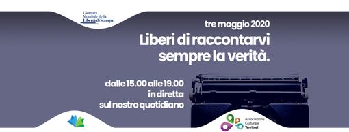 3 maggio Giornata Mondiale della Libertà di Stampa: ecco il programma delle Conversazioni