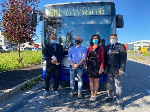 E' partita questa mattina la nuova linea di bus per Cebrosa - Settimo Cielo