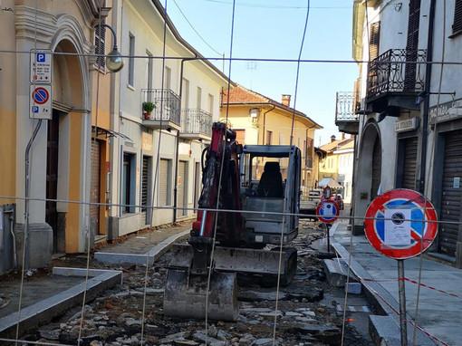 Volpiano, operativo ad agosto il cantiere per la riqualificazione di via Garibaldi