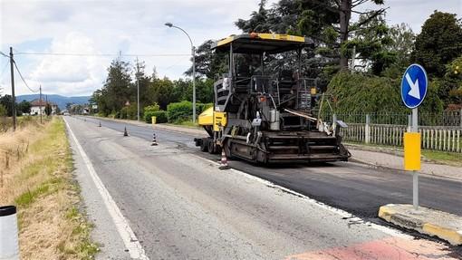 Strada Provinciale 11, Anas rifà la pavimentazione tra Chivasso e Villareggia