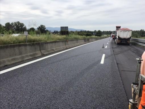 """Lavori di risistemazione del manto stradale sulla statale 460 """"di Ceresole"""""""
