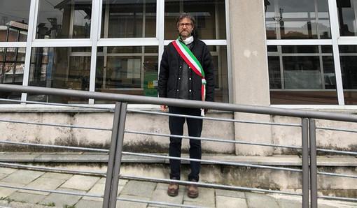 Il sindaco di Mazzè Marco Formia