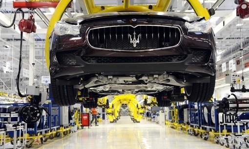 catena di montaggio Maserati