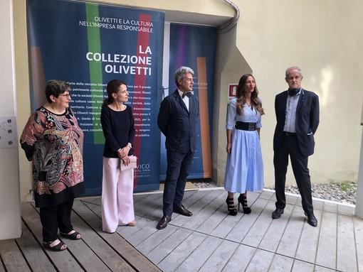 """""""La collezione Olivetti e la cultura d'impresa"""": taglio del nastro della mostra al Museo Garda di Ivrea"""