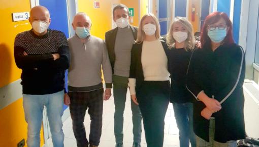Vaccinati i primi medici di base di Chivasso