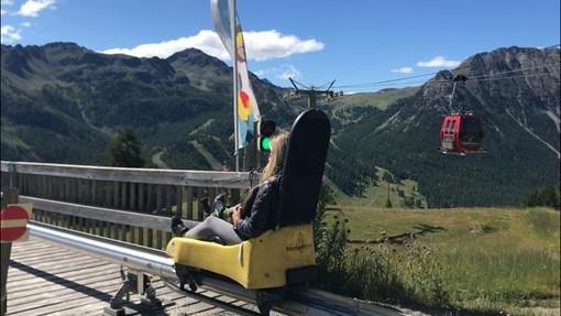 Monty Express, pura adrenalina e paesaggio mozzafiato sulla slitta del Monginevro [VIDEO]