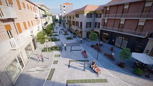 Un luogo per incontrarsi e giocare: ecco come sarà la nuova area pedonale di Settimo Torinese