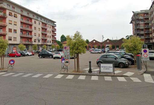 Piazza Garibaldi a Crescentino (foto d'archivio)