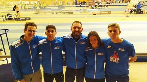 Chivasso, quattro atleti dell'Atletica Canavesana all'esordio Indoor a Padova