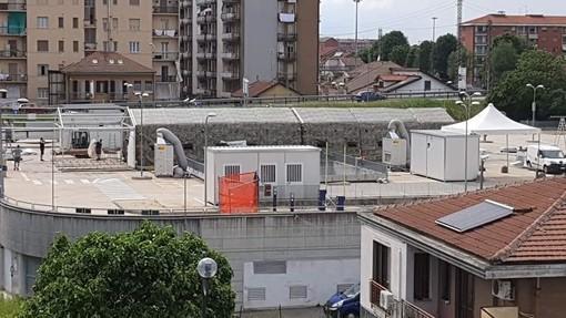 Battuta d'arresto per il Covid, si smontano le tende militari all'ospedale di Chivasso