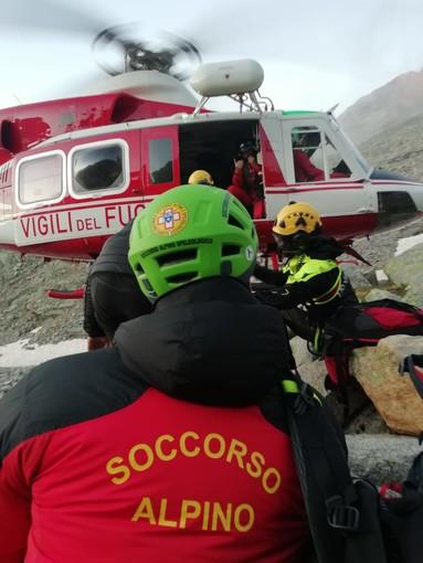 Ronco Canavese, recuperati i due alpinisti dispersi nel Vallone di Forzo