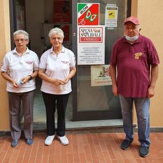Alcuni dei volontari del progetto