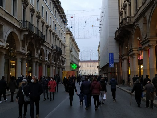 """L'Epifania la zona rossa si porta via, ma Torino si ritrova in un giallo """"rinforzato"""""""
