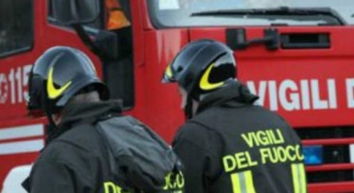Incendio a Noasca, nel Canavese: a fuoco l'Osteria dei viaggiatori