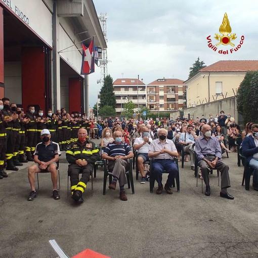 Rivarolo Canavese: inaugurata la nuova struttura per l'addestramento dei vigili del fuoco